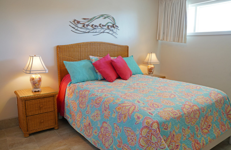 Guest Bedroom at Island House Beach Front Condominiums