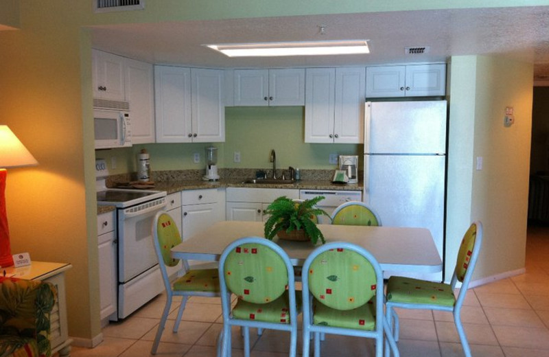 Kitchen Area at Coconut Palms Beach Resort