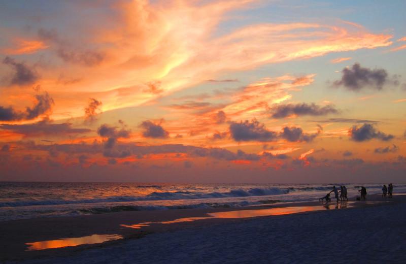 Sunrise at Seascape Resort.