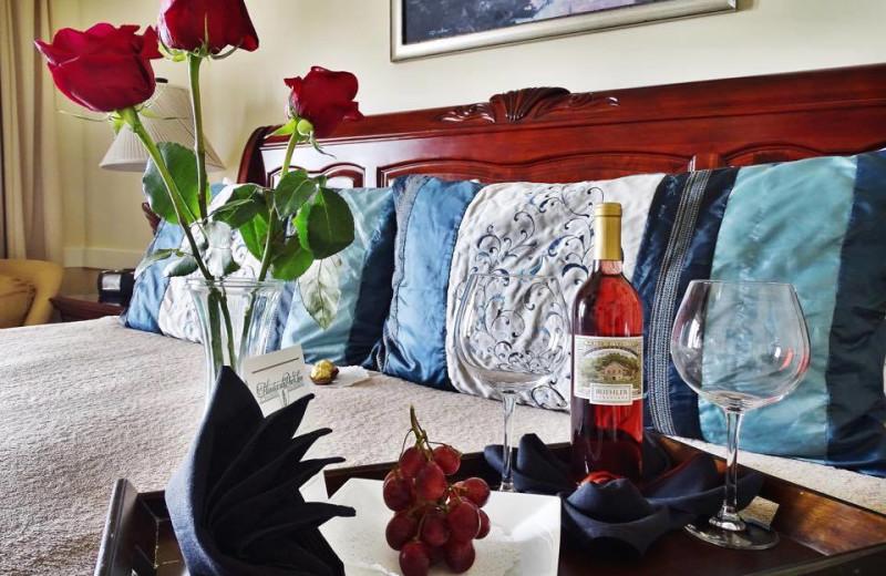 Guest room at Henderson Park Inn.