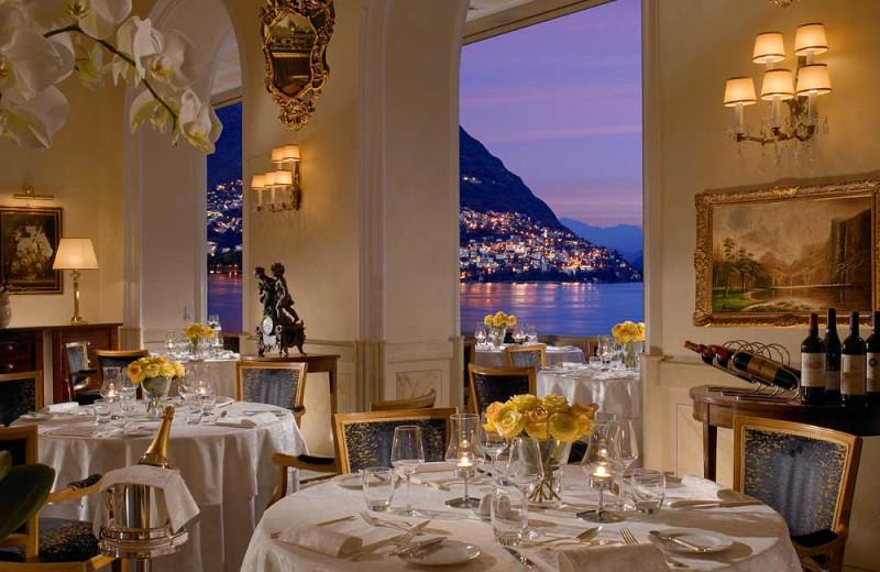Dining at Hotel Splendide Royal.