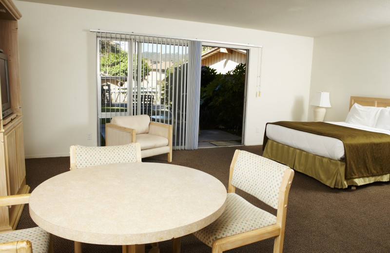 Guest room at The Ranch at Laguna Beach.