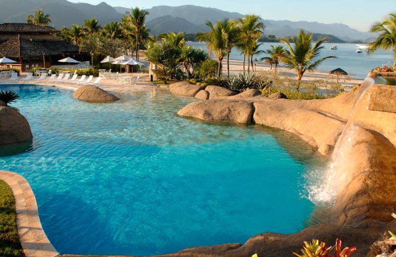 Outdoor pool at Hotel do Frade & Golf Resort.