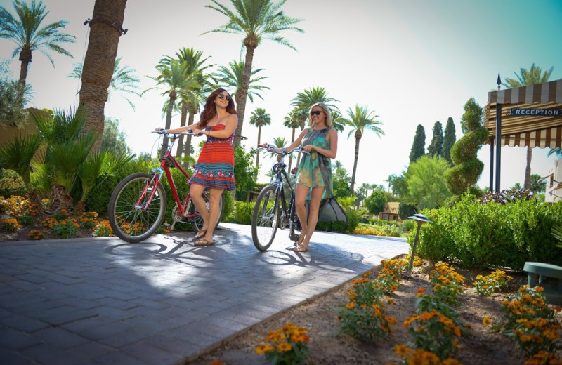 Biking at The Wigwam Resort.