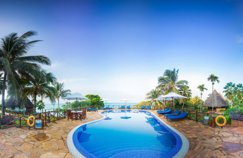 Outdoor pool at Ras Nungwi Beach Hotel.
