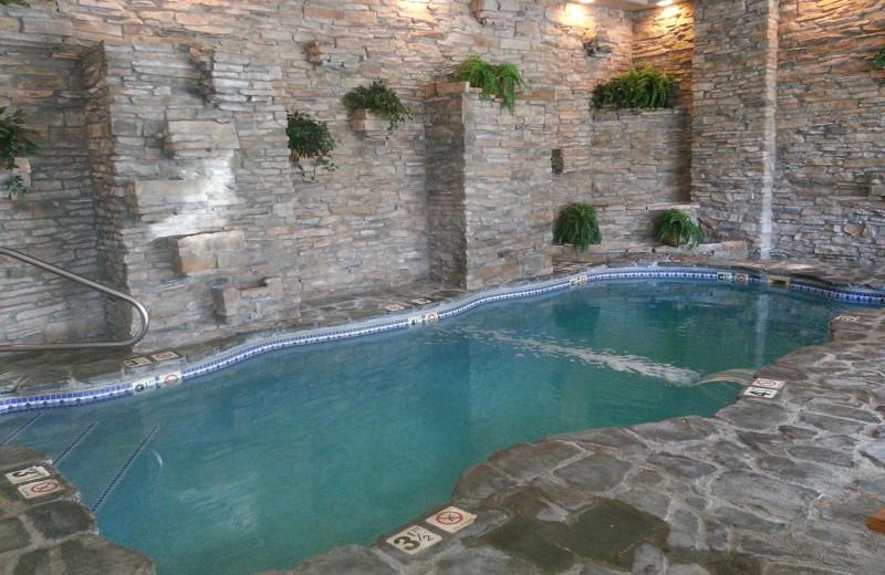 Indoor pool at Sheepscot Harbour Village & Resort.