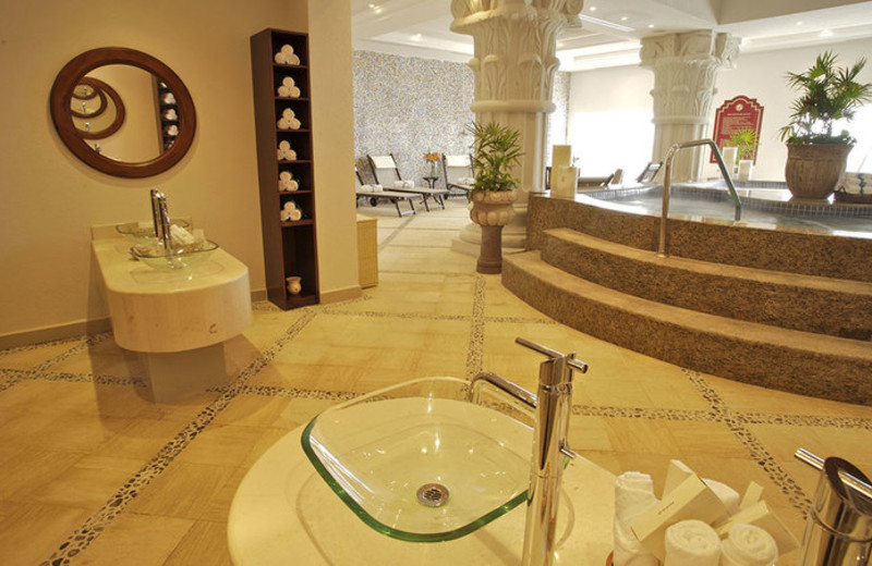 Spa at Royal Luxury Cancun.