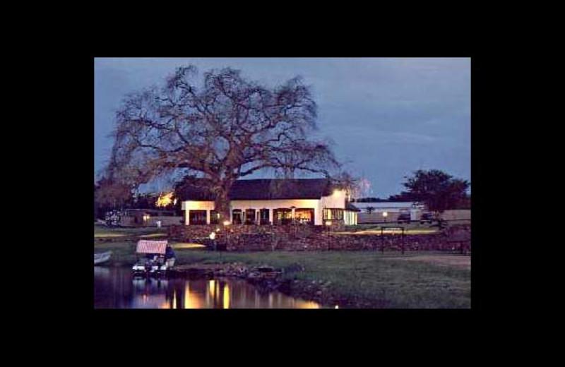Main lodge at Kasaba Bay Lodge.