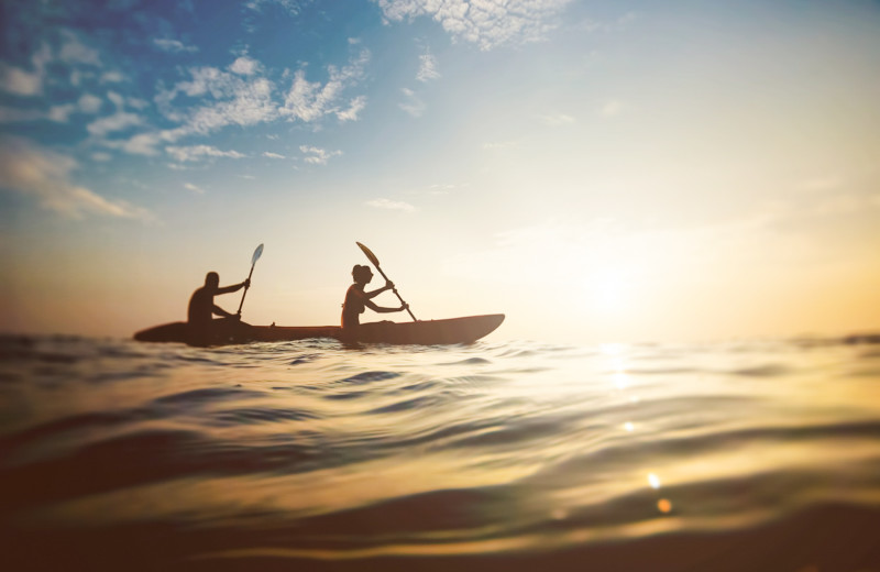 Feeling adventurous? Hop on an Ocean Kayak on your upcoming vacation!
