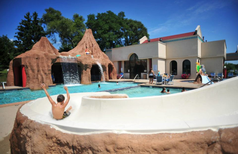 Outdoor Waterpark at The Atlantis Hotel
