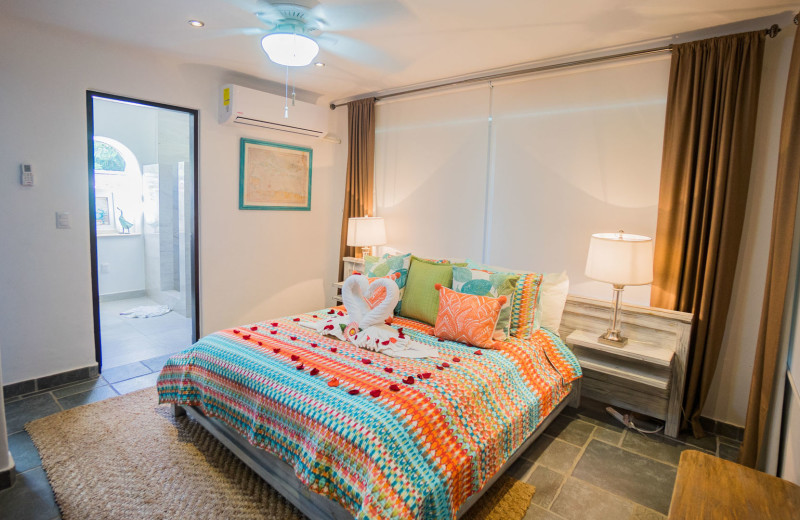 Rental bedroom at Bric Vacation Rentals.