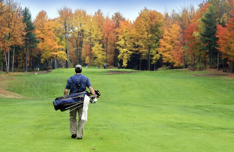 Golf course at Bay Harbor Resort and Marina.