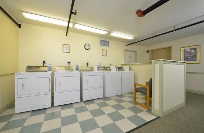 Laundry facilities at Bar Harbor Grand Hotel.