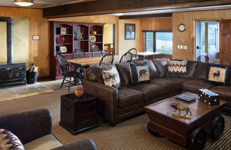 main room of the Elk Lodge