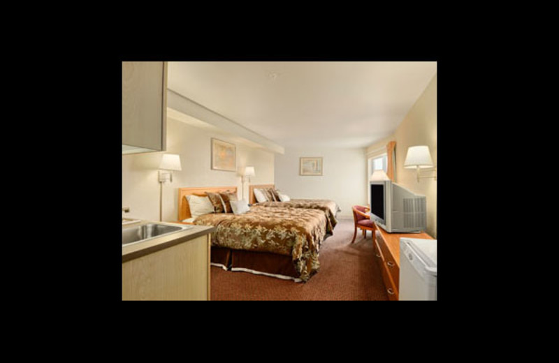 Guest room at Ramada Hotel & Resort.