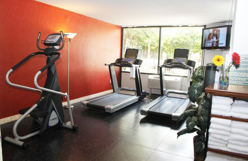 Fitness room at Park Inn by Radisson Resort Orlando.