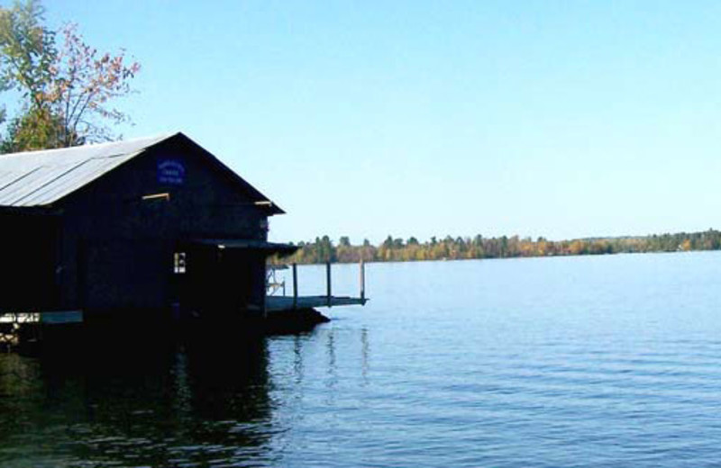 Boathouse at Trancheff's Cabins