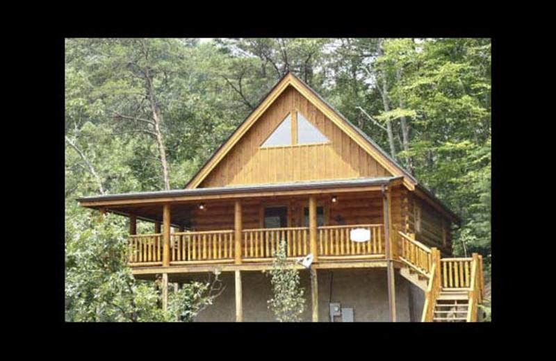 Cabin Exterior At Eden Crest Vacation Rentals, Inc.   Quittin Time.