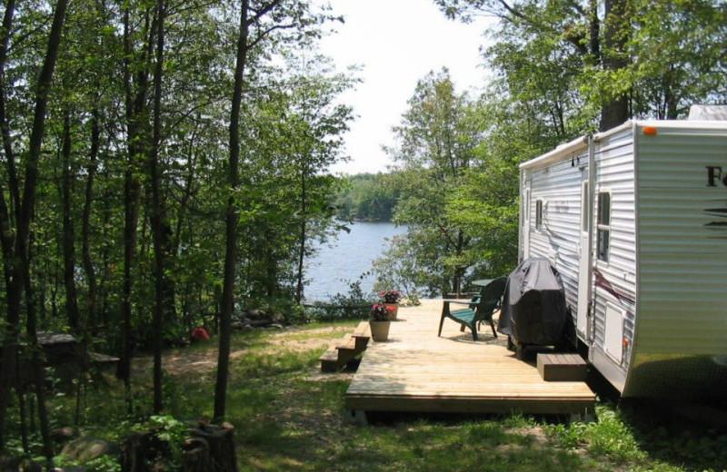 Lakeside Campsite at Skycroft Campsites & Cottages