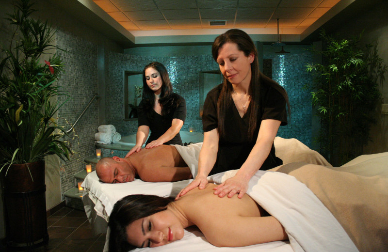 Spa services at The Inn and Spa at East Wind.