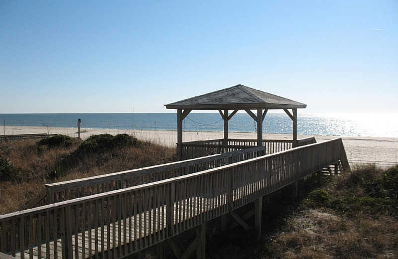 Beach view at Williamson Realty. Inc.