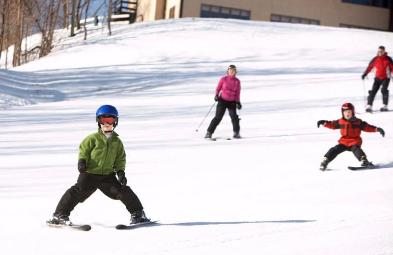 Skiing at Treetops Resort
