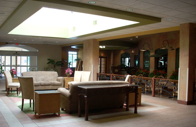 Lounge view at Ambers Resort and Conference Center.