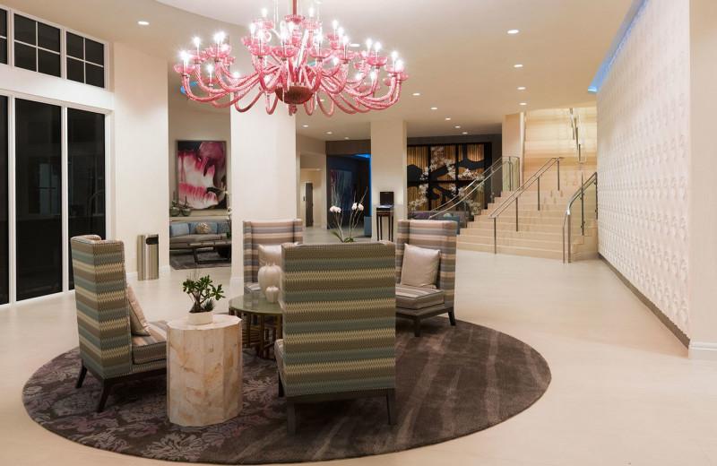 Lobby at Wyndham Grand Jupiter At Harbourside Place