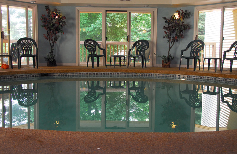 Indoor pool at Grand Hotel of Ogunquit.