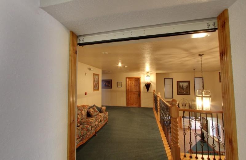 Hallway at The Snuggle Inn.