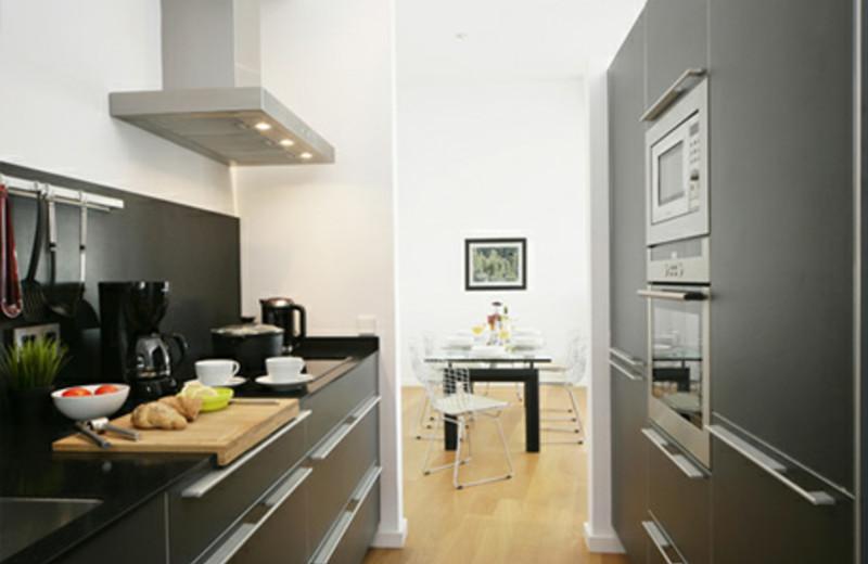 Kitchen at Playa Blanca.