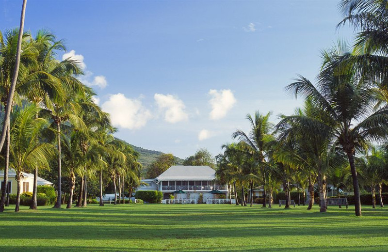 Exterior view of The Nisbet Plantation Beach Club.