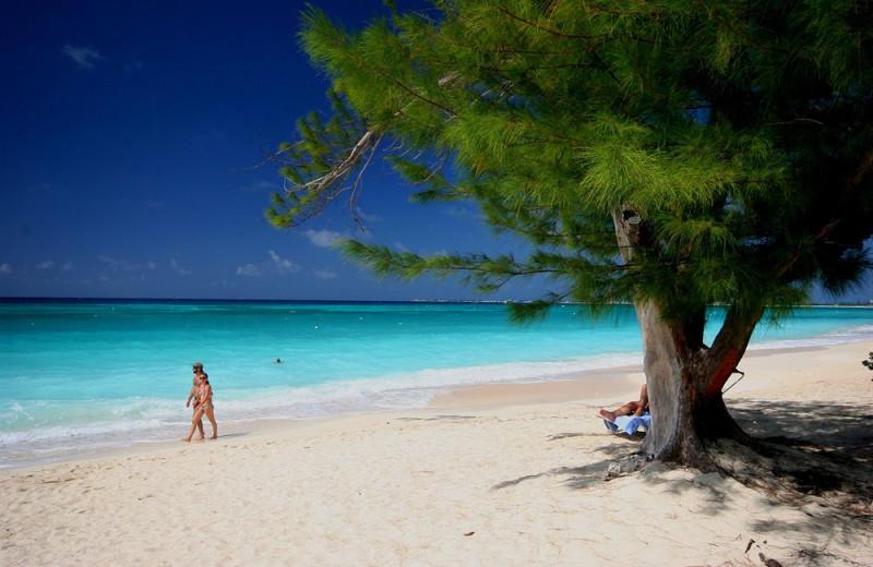 Beach at Britannia Villas.