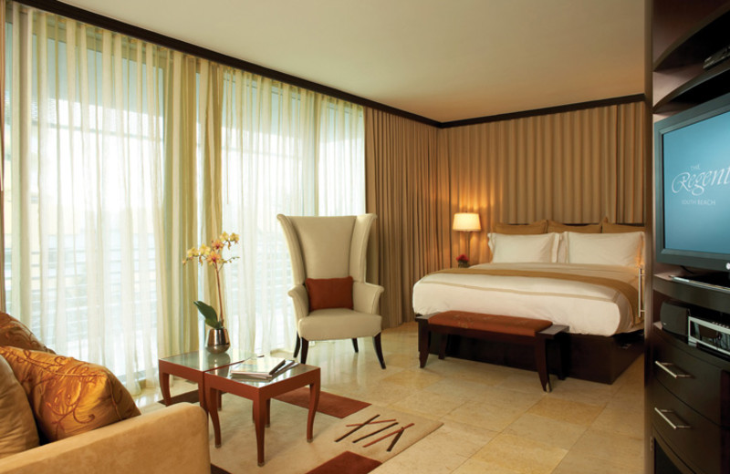 Guest room at Z Ocean Hotel.