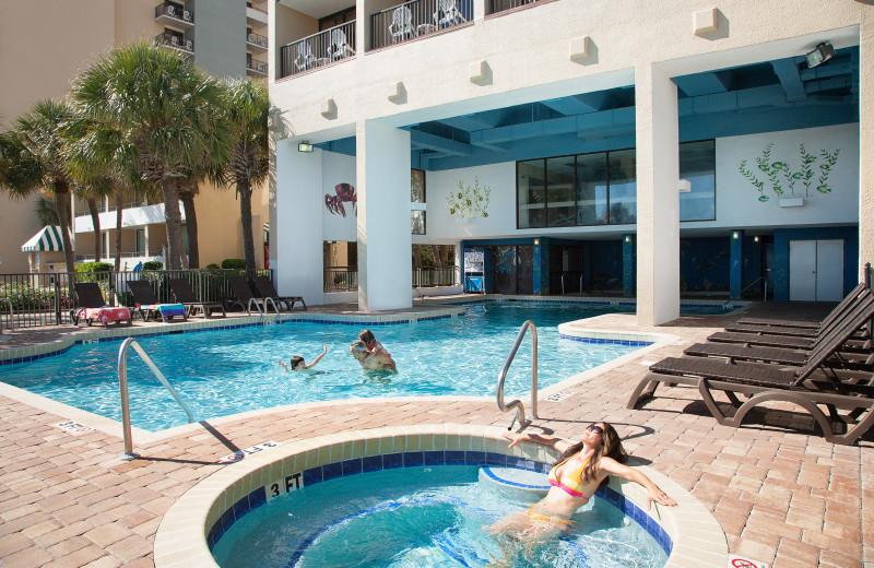 Outdoor pool at The Breakers Resort.