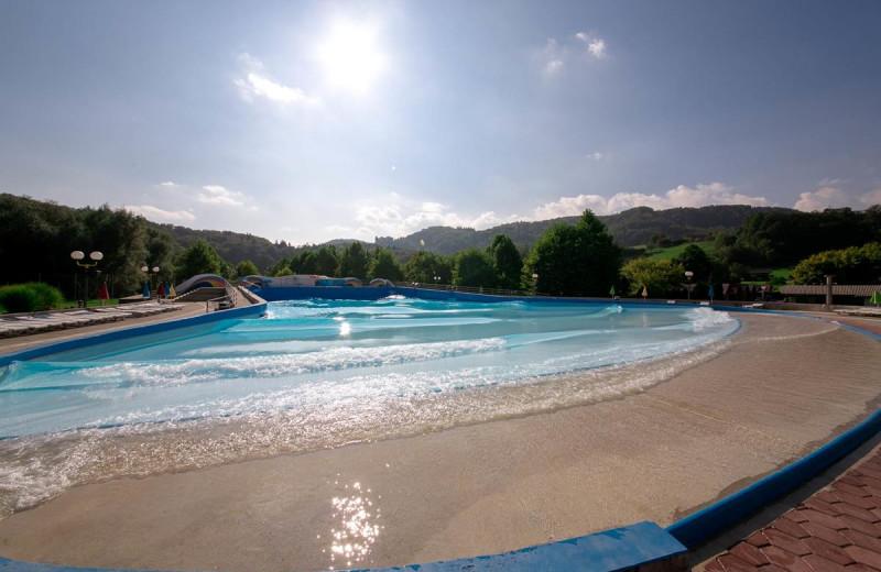 Pool at Glamping Olimia Adria Village.