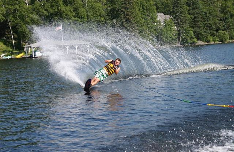 Water activities at Bald Mountain Camps Resort.