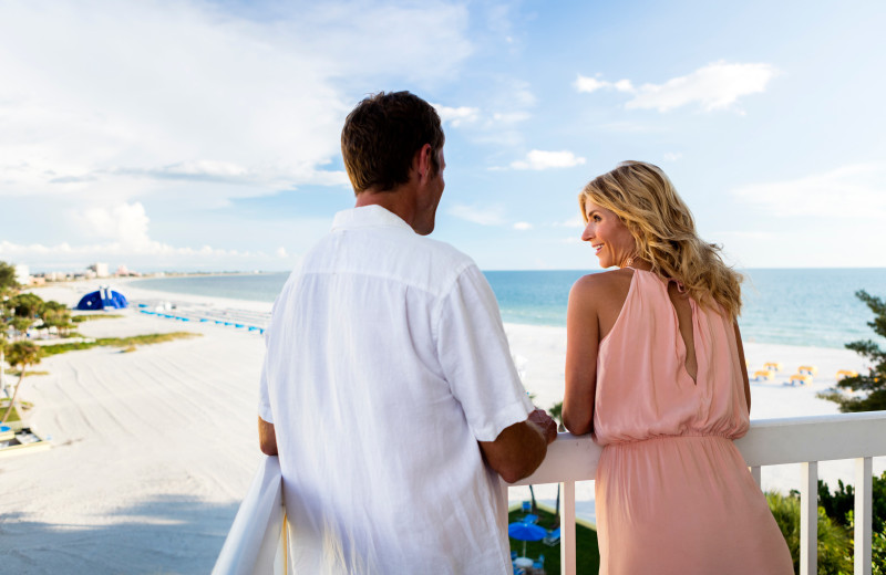 Couple at TradeWinds Island Grand.