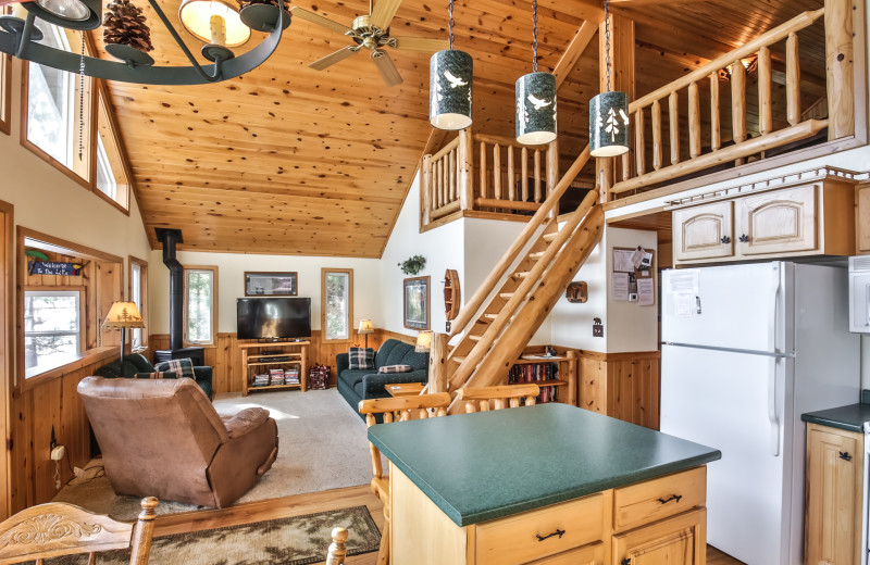 Rental interior at Hiller Vacation Homes.