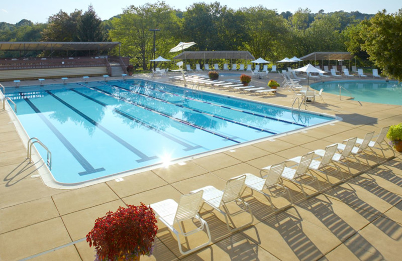 Outdoor pool at Boar's Head Resort.