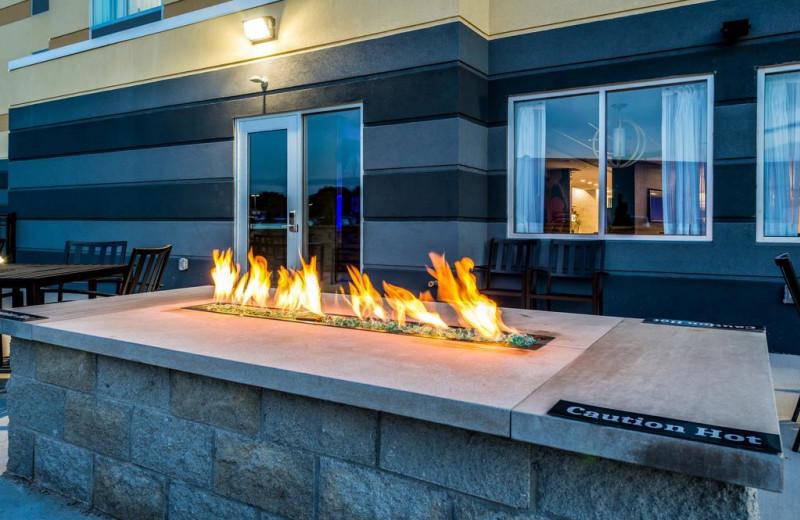 Fire pit at Fairfield Inn & Suites - Stevensville.