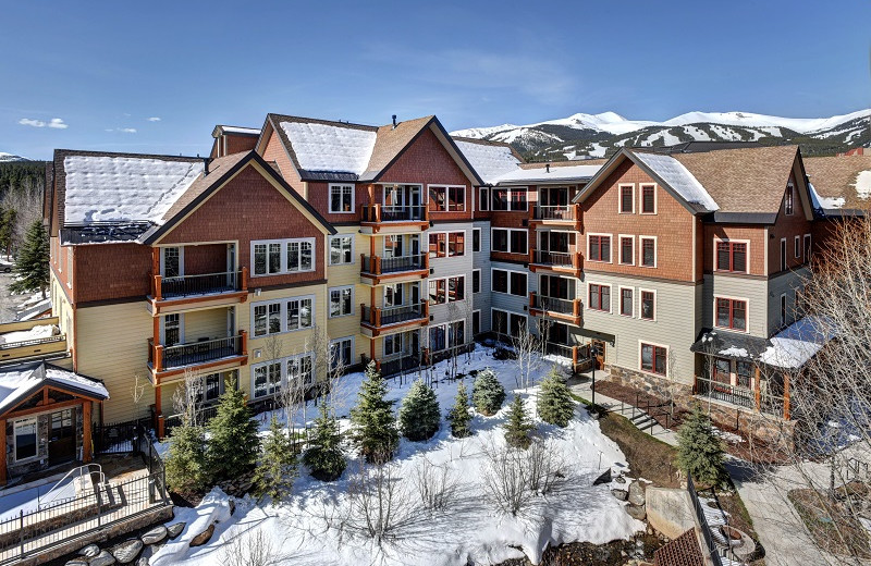 Situated between Main Street Breckenridge and the Base of Peak 9.