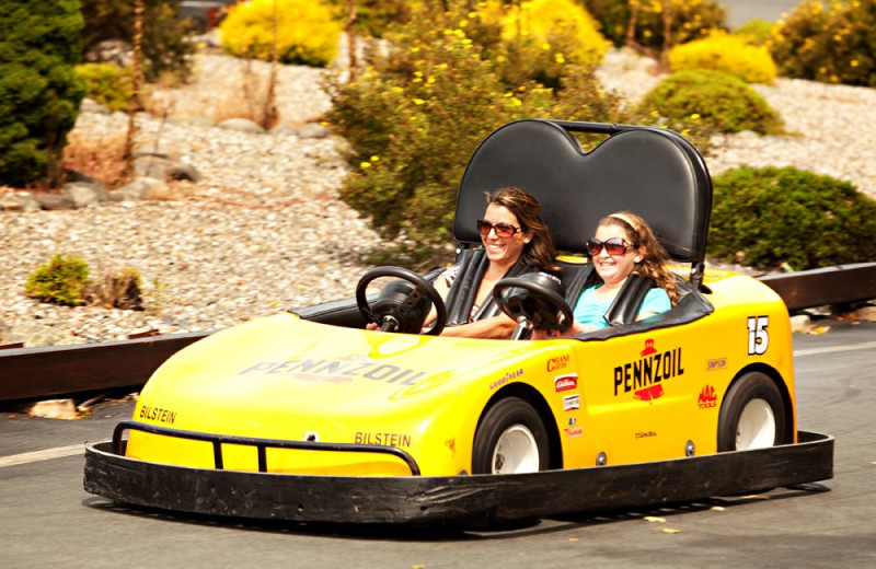 Go carts at Villa Roma Resort and Conference Center.