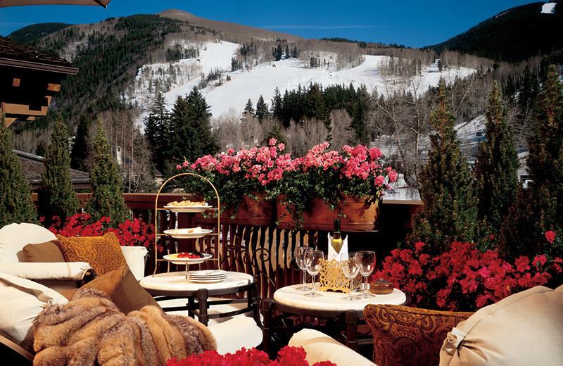 Mountain view at The Lodge At Vail.