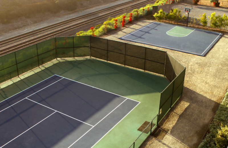 Tennis and Basketball Courts at the Carlsbad Seapointe Resort