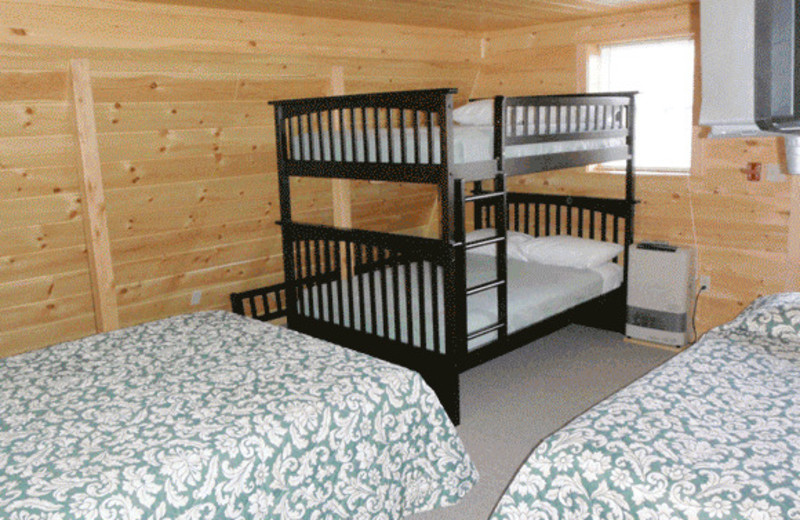Bedroom at North Country Rivers