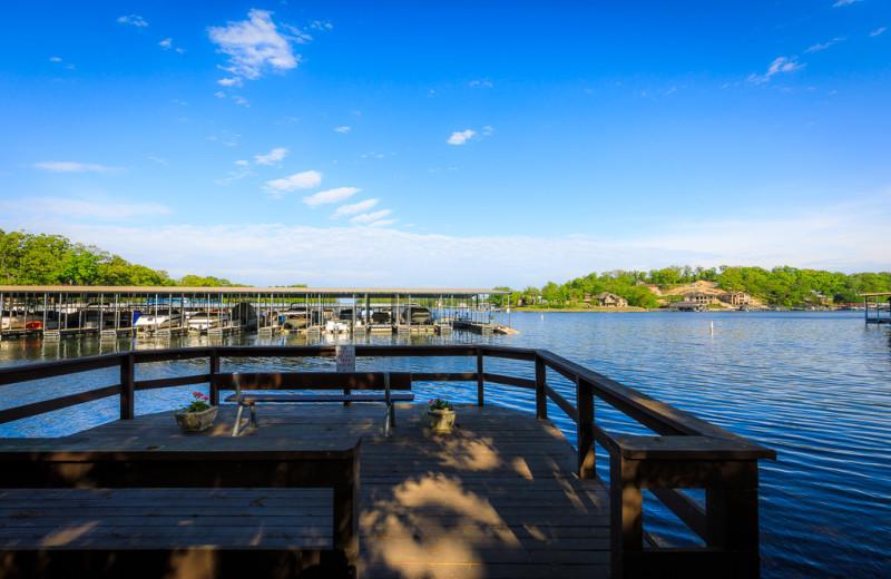 Dock at The Knolls Resort Condominiums.