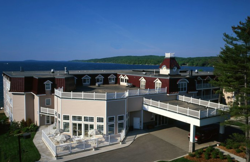 Exterior view at Bayshore Resort.