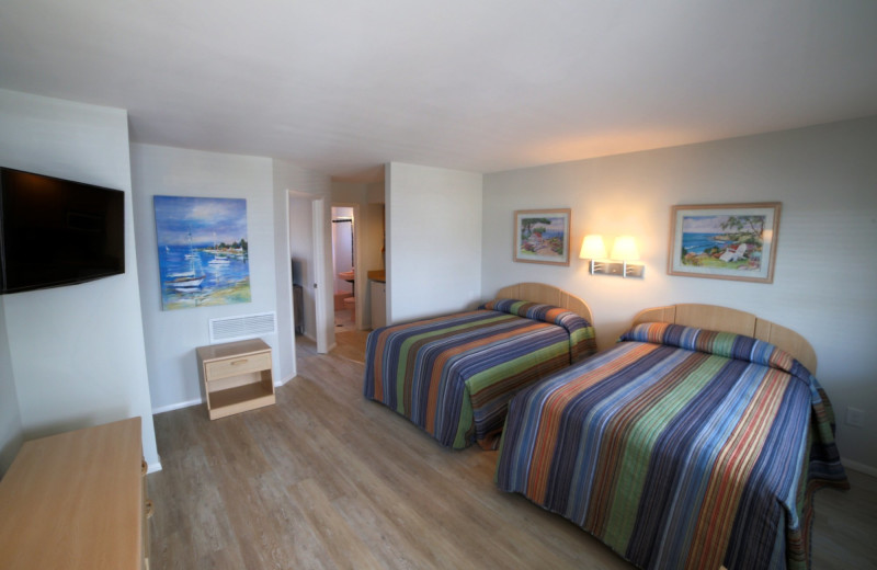 Guest room at The South Winds.