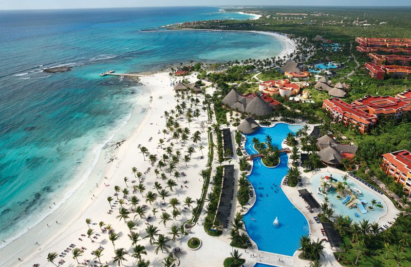 Aerial View of Barceló Maya Colonial